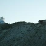 Вид на маяк на мысе Св. Ильи