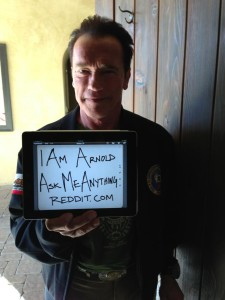 Арнольд приглашает задавать ему вопросы на reddit.com